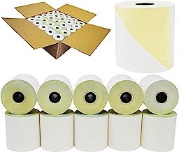2 عدد 3 اینچ 90 اینچ (50 رول) رول کربناته Bond Pos Paper Rolls ساخته شده در ایالات متحده آمریکا از BuyRegisterRolls