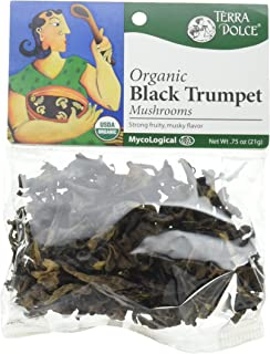 Terra Dolce Mycological Organic Black Trumpet Mushrooms, .75 Ounce