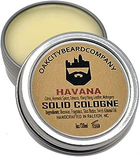 OakCityBeardCo. - Havana - Men's Solid Cologne - 1oz