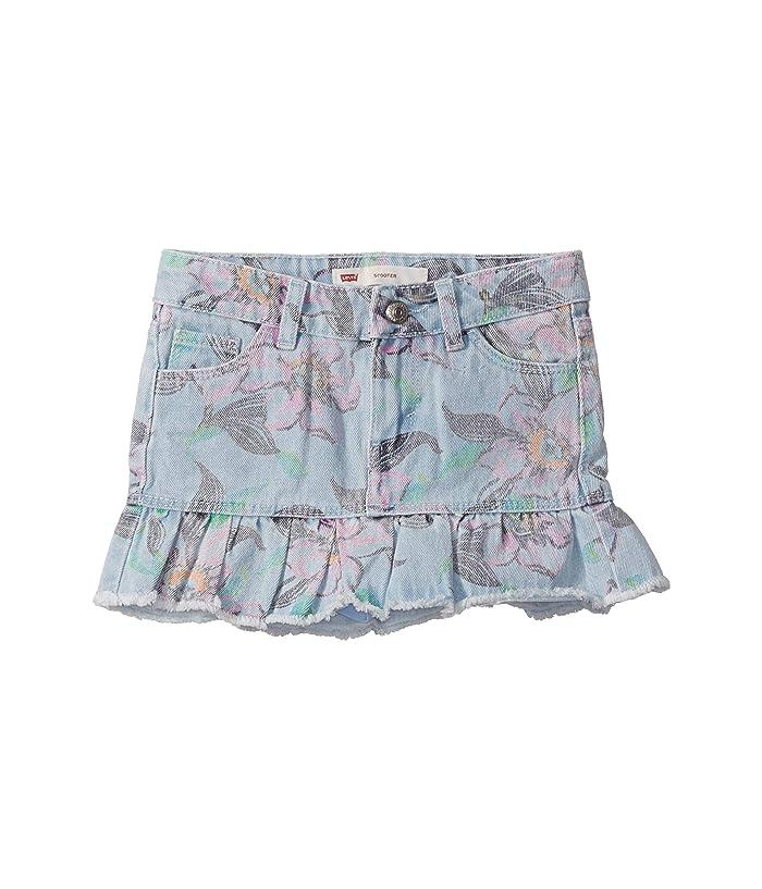 Levis Kids  Alessandra Scooter Skirt (Little Kids) (Floral Breeze) Girls Skort