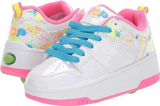 White/Neon Pink/Neon Splatter