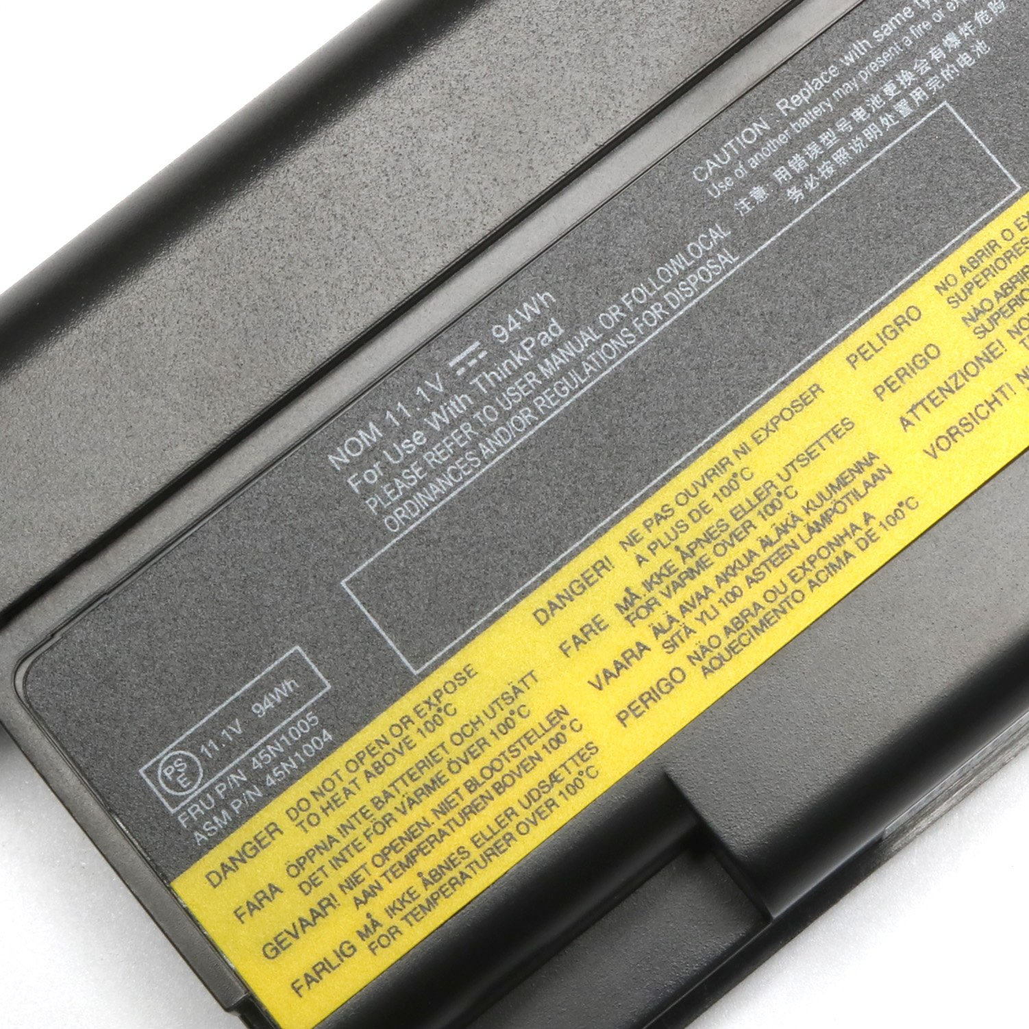 9 cell Laptop Battery for Lenovo Thinkpad 0A36303 T430 W530 T530 ...