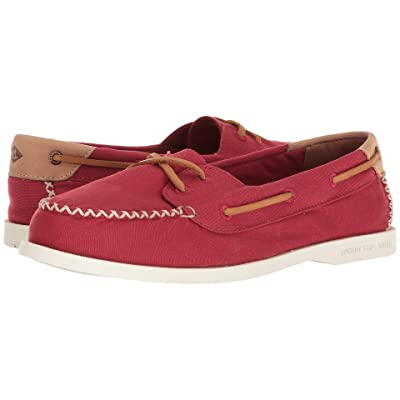 Sperry A/O Venice Canvas (Red) Women