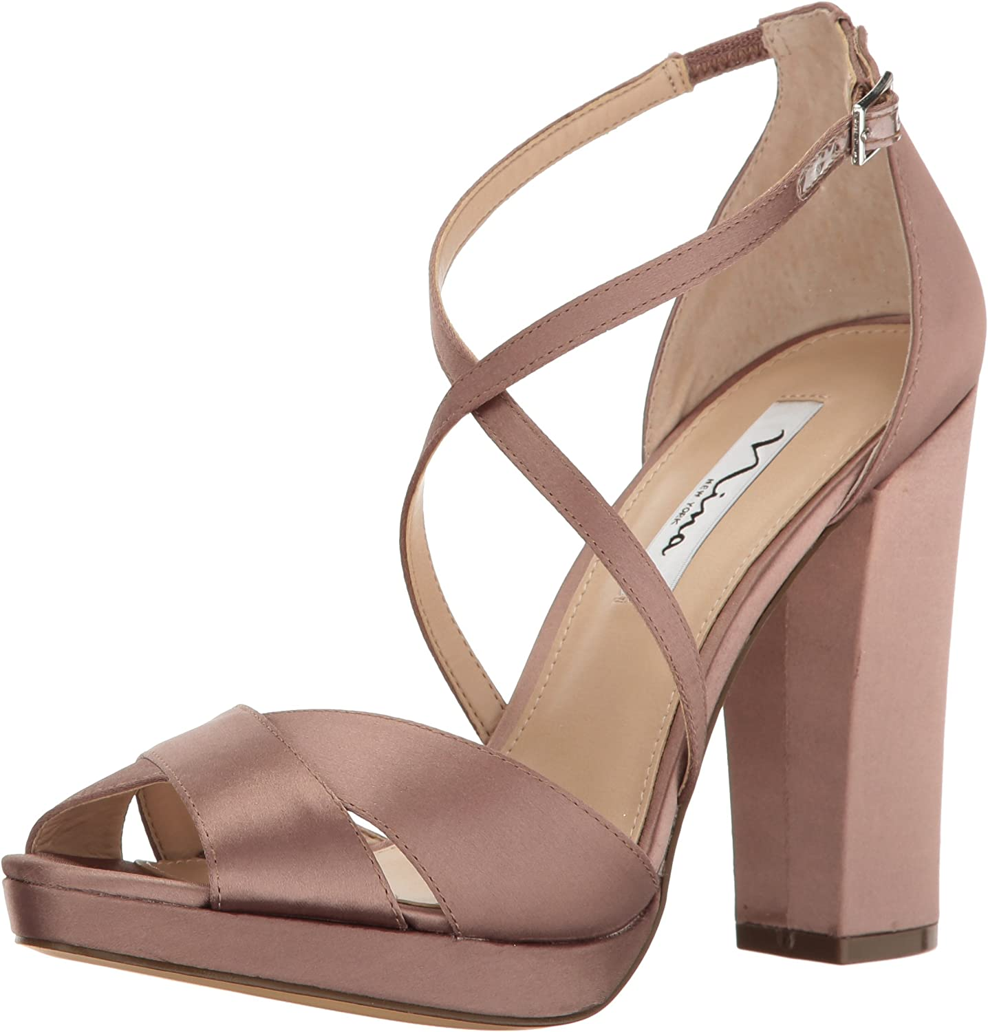 NINA Woherren Marylyn Dress Sandal, Light Mocha, 7 M M US  auf dich wartend