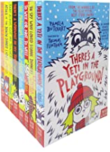 Pamela Butchart Collection Baby Aliens Series 8 Books Set (Books for 7 years old, Books for Childrens)