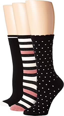 Multi Stripe 3-Pack Trouser Socks
