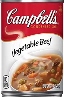 Campbell's Condensed Vegetable Beef Soup, 10.5 Ounce (Pack of 12)