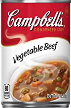 Campbell'sCondensed Vegetable Beef Soup, 10.5 oz. Can (Pack of 12)