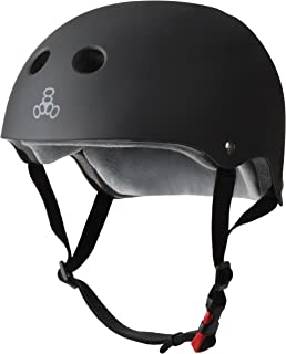 Triple Eight THE Certified Sweatsaver Helmet for Skateboarding, BMX, and Roller Skating