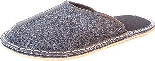 Revise Pantoufles en Feutre - Chaussures Maison pour Hommes - Semelle en Gomme – Taille 42