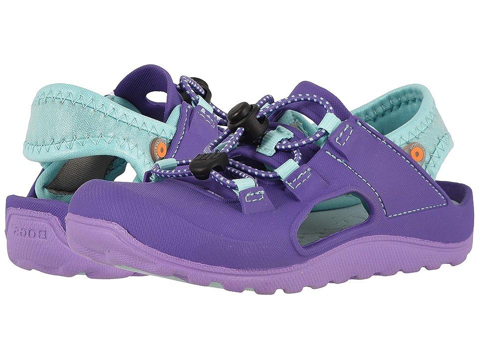 Bogs Kids Flo Sandal (Toddler/Little Kid) (Violet Multi) Girls Shoes