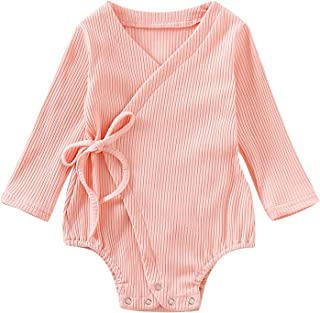 Newbown Baby Boys Girls Romper Knitted Long Sleeve Bodysuit Organic Cotton Sweater Fall Winter Clothes