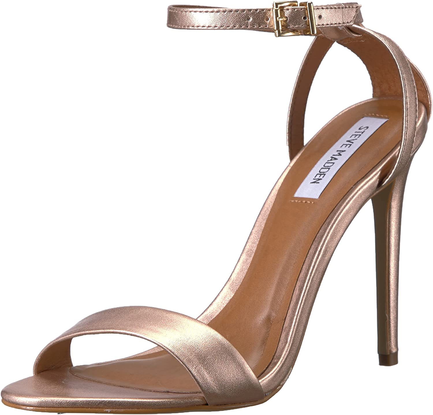 Steve Madden Womens Lacey Heeled Sandal