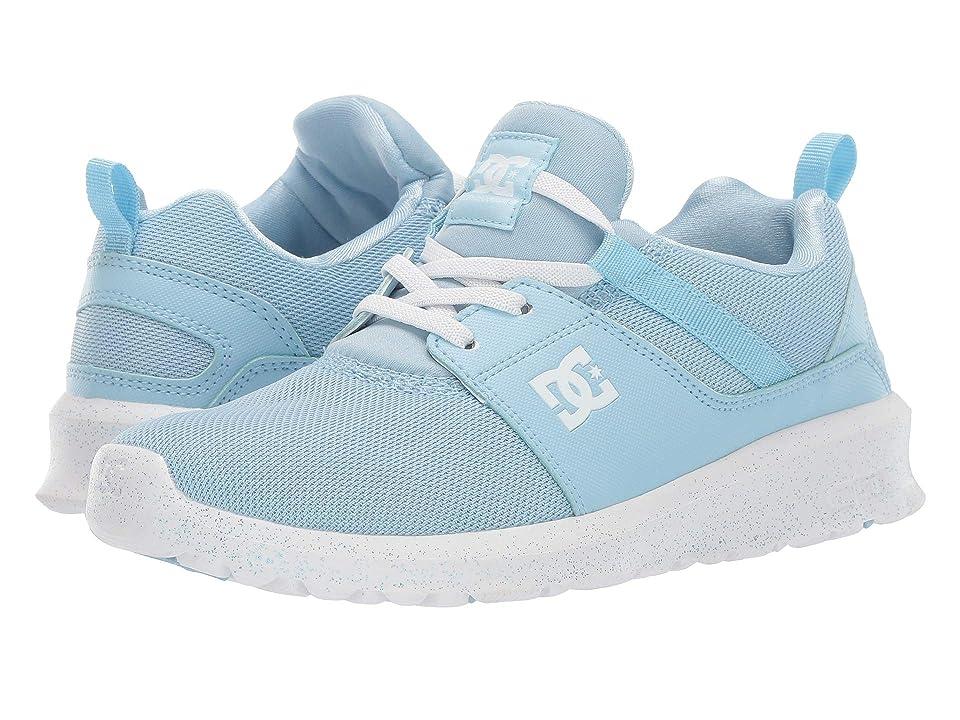 DC Kids Heathrow TX SE (Little Kid/Big Kid) (Powder Blue) Girls Shoes
