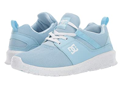 DC Kids Heathrow TX SE (Little Kid/Big Kid) (Powder Blue) Girls Shoes