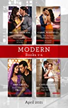 Modern Box Set 1-4 Apr 2021/One Hot New York Night/The Italian's Forbidden Virgin/Bride Behind the Desert Veil/The Secret ...