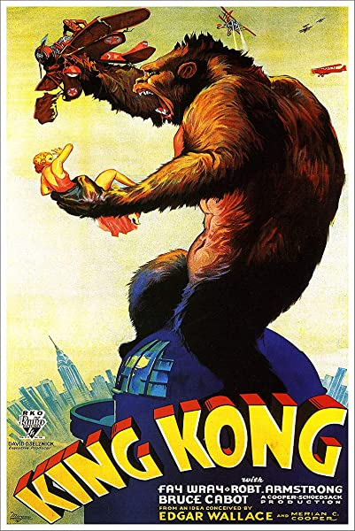 American Gift Services King Kong Vintage Movie Poster 3 24x36