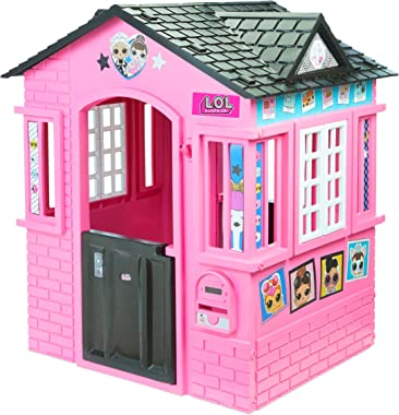L.O.L Surprise! Indoor & Outdoor Cottage Playhouse with Glitter