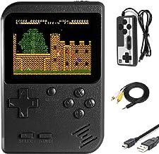 Imponigic Console de jeu rétro Mini joueur de jeu avec 500 jeux classiques 1020mAh batterie rechargeable écran IPS de 7,6 ...