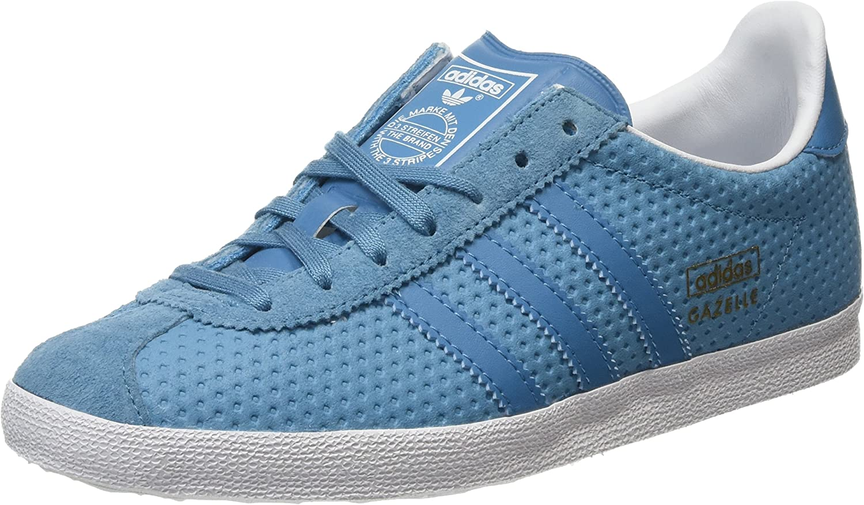 Adidas Gazelle OG Womens Suede Trainers Sea bluee 4 US-M 5 US-W
