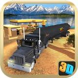 Offroad Oil Tanker Transport Simulator Game - Ultimate Carrier Cargo Fuel Tanker Parking Simulation 3D Games 2020 - Oil Tanker Fun Driving 2020