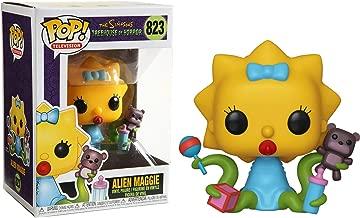 Alien Maggie: Funko Pop TV Vinyl Figure & 1 Compatible Graphic Protector Bundle (823 - 39727 - B)
