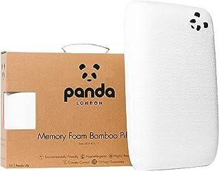 Almohada viscoelastica de Panda con memoria inteligente hecha de Bambú (memory foam), anti-alérgica, antibacteriana, anti-insomnica, 10 años de garantia.