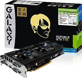 玄人志向 グラフィックボード GEFORCE GTX 770 2GB PCI-Express GF-GTX770-E2GHD/OC