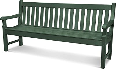 POLYWOOD Rockford 72-Inch Bench, Green