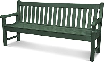 product image for POLYWOOD Rockford 72-Inch Bench, Green