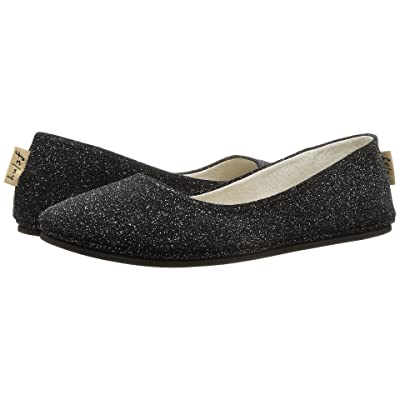 French Sole Sloop Flat (Argento Sparkle Suede) Women