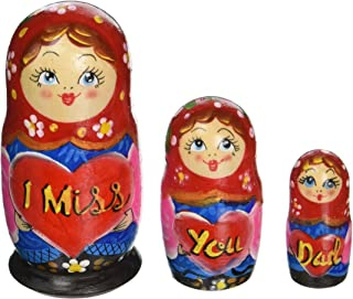 G. Debrekht Miss You Nested Doll, 5
