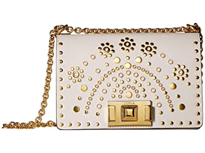 Furla Mimi Mini Crossbody (Lino) Handbags
