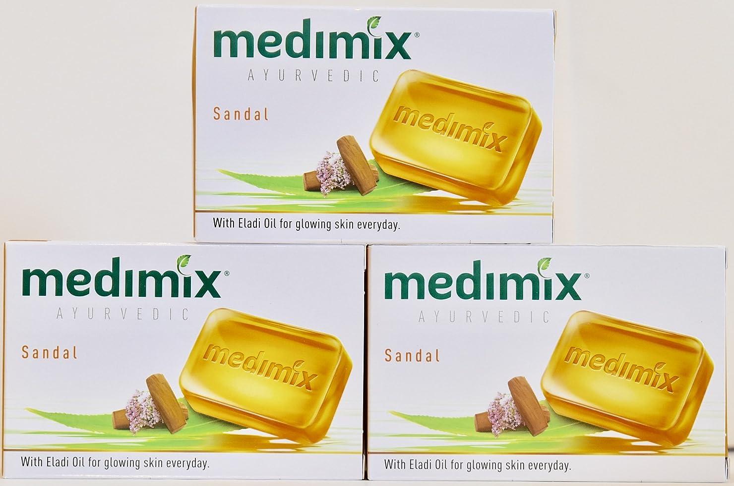 住むライム歩き回るmedimix メディミックス サンダル 3個入り 125g(旧クラシックオレンジ)