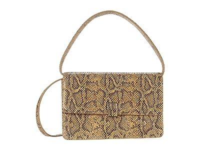 Loeffler Randall Katalina Leather Shoulder Bag (Butter) Handbags