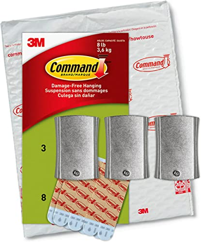 Command PH048-3NA Value Pack Jumbo Universal Picture Hanger, Large, White