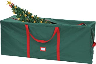 Joiedomi Christmas Tree Storage Bag – Fits up to 9 ft Disassembled Artificial Christmas Tree, Durable Waterproof Material with Carry Handles and Zippered Closure