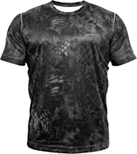 Kryptek Hyperion Short Sleeve Camo Shirt - Lightweight, Birds-Eye Mesh for Hunting & Fishing Shirt (K-Ore Collection)