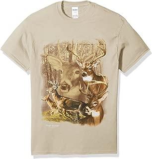 Men's Deer Series Short Sleeve T-Shirt