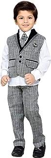AJ DEZINES Boy's Cotton Suit Piece