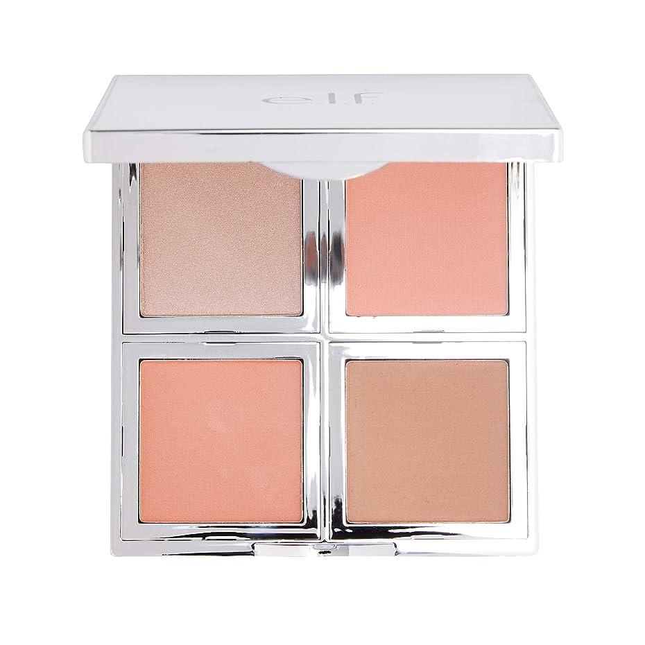 カセットいっぱい休戦e.l.f. Beautifully Bare Total Face Palette (並行輸入品)