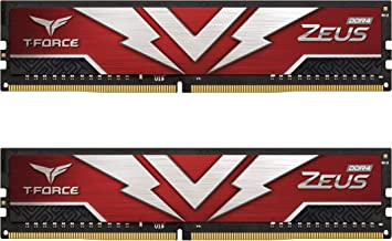 TEAMGROUP T-Force Zeus DDR4 16GB Kit (2 x 8GB) 3000MHz...