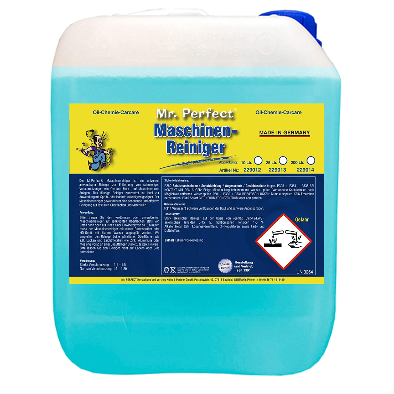 Mr Perfect Maschinenreiniger 10 Liter Drogerie Körperpflege
