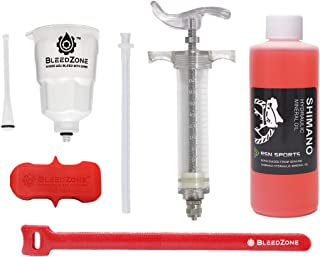 RSN Sports Bleed Kit for Shimano MTB Brakes with Pro Syringe and Mineral Oil