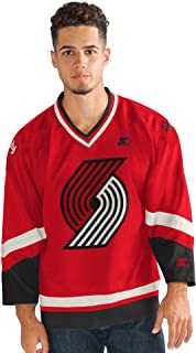 STARTER Mens Legend Hockey Jersey 6SY30145, Red, Large