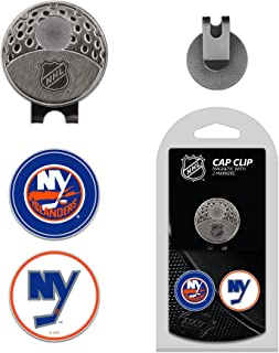 Team Golf NHL Golf Cap Clip with 2 Removable Double-Sided Enamel Magnetic Ball Markers, Attaches Easily to Hats