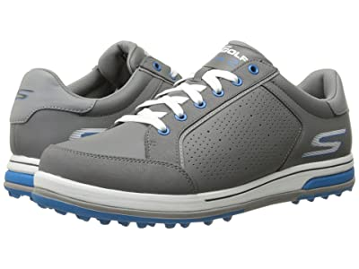 SKECHERS Performance GO GOLF Go Drive 2 (Charcoal/Blue) Men