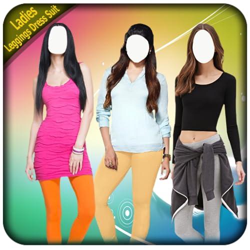 Ladies Leggings Dress Suits