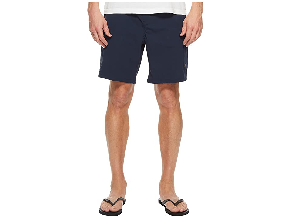 Quiksilver Waterman Explorer Technical Shorts (Navy Blazer) Men