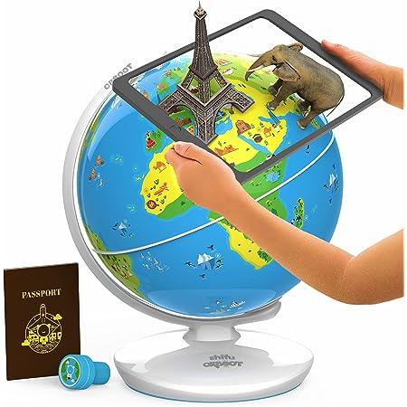 Shifu - Orboot - Der pädagogische Globus mit erweiterter Realität | Mint-Spielzeug für Jungen und Mädchen im Alter 4-10 Jahren Kinder (Keine Grenzen oder Namen auf dem Globus)